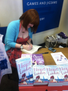 I Heart London Birmingham WH Smith Lindsey Kelk