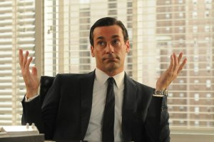 Patron saint of douchebags, Don Draper.